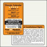 sturgis calendar