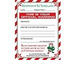 elf warning