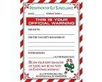 elf warning