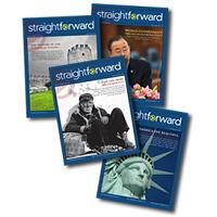 straightforward magazine