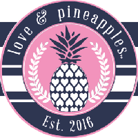 love and pineapples
