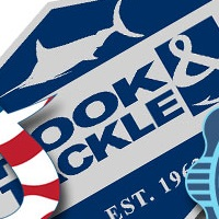 hook and tackle stickers