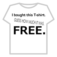 free t-shirts by mail